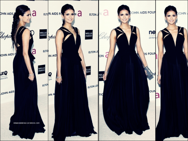 .  27.02 Nina était présent à la 20éme édition du Elton John AIDS Foundation Oscar   .