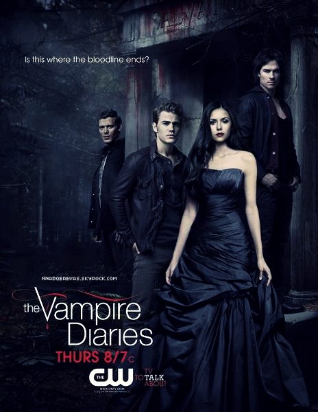 .  14.04 Voici la nouvelle affiche promotionnel de The Vampire Diaries    .