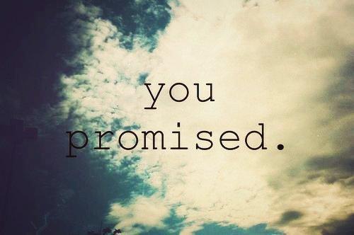 promesse....