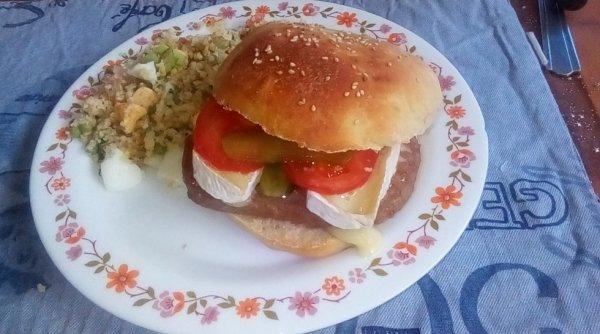 Hamburger maison !!!