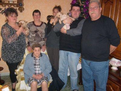 Photo de famille de noêl 2009