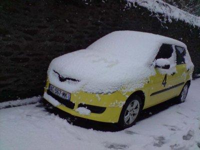 déco neige ^^