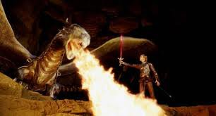 Eragon, avant le combat : Eragon et Saphira