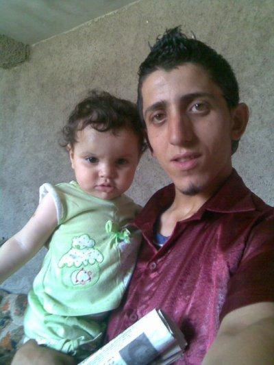 moi et la petite fille de mon oncle