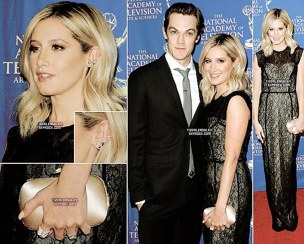 FLASH BACK - Le 20 Juin: Ashley et Chris étaient présent pour la Daytime Creative Arts pour les Emmy Awards.