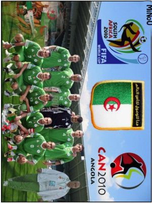 l'équipe natoinal algerienne