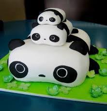 Un gateau panda