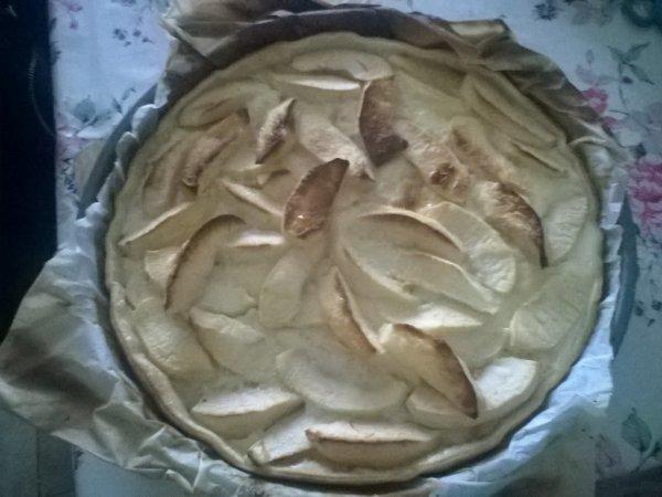une bonne tarte alsacienne aux pommes 😉