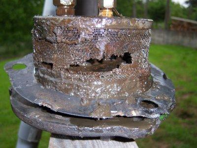 demontage de la pompe a huile