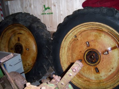demontage des roues