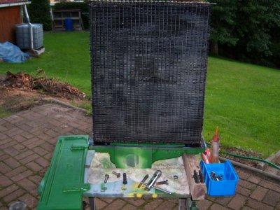 remontage du radiateur