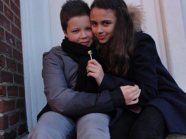 Rédouane & Marie-Charlotte. ♥