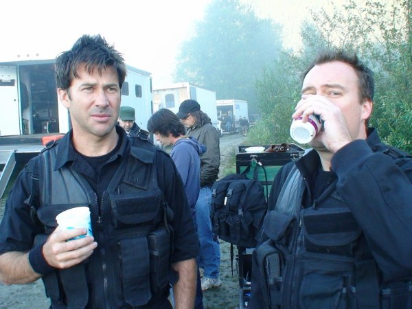 "my ship friends ""behind the scene : Stargate Atlantis"""
