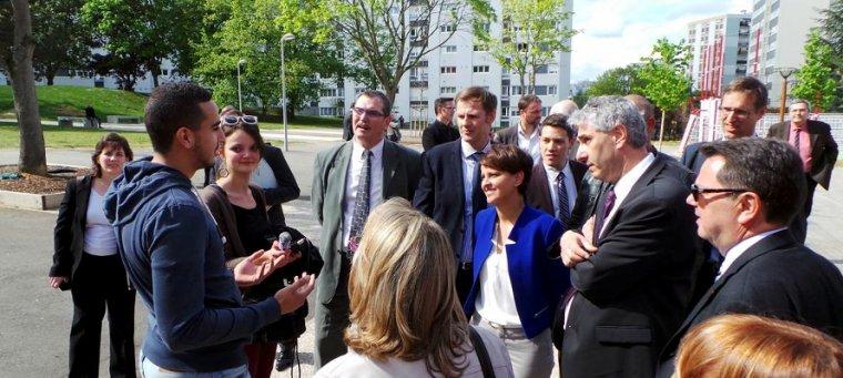 La feuille de route de Najat Vallaud-Belkacem pour la politique de la Ville