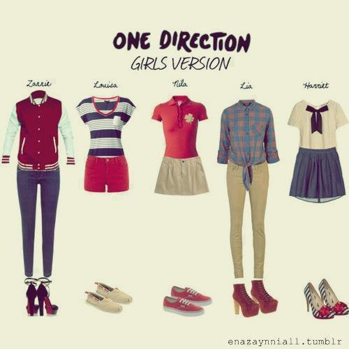 One DIrection styles