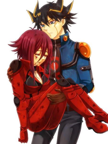aki izayoi and yusei fudo dating