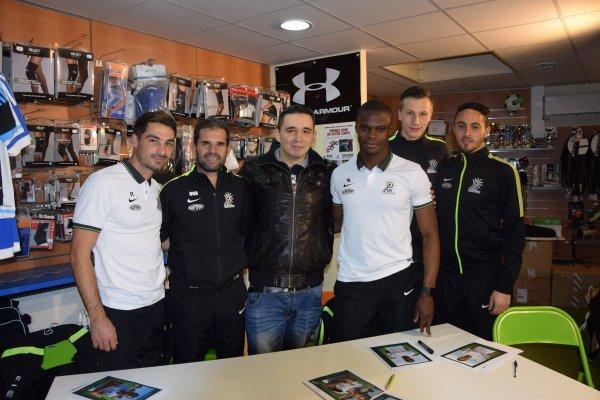 Rencontre avec Didier Olle-Nicolle et les joueurs du SR Colmar
