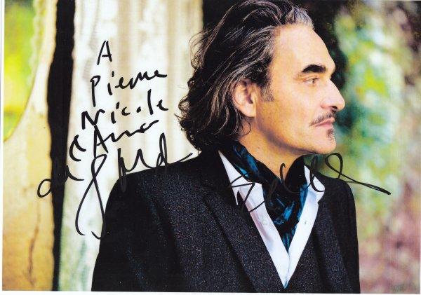 Autographe de Stephan Eicher