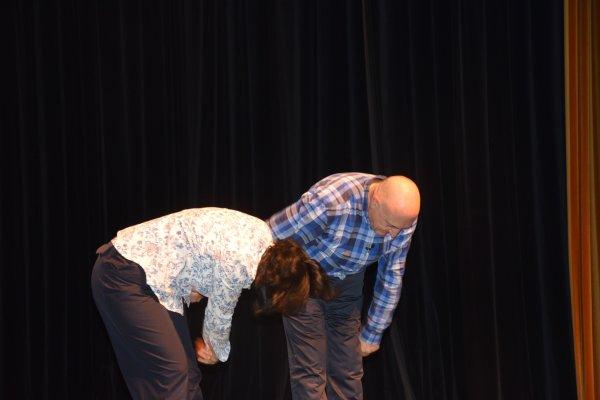Guy Montagné et Sylvie Raboutet en spectacle