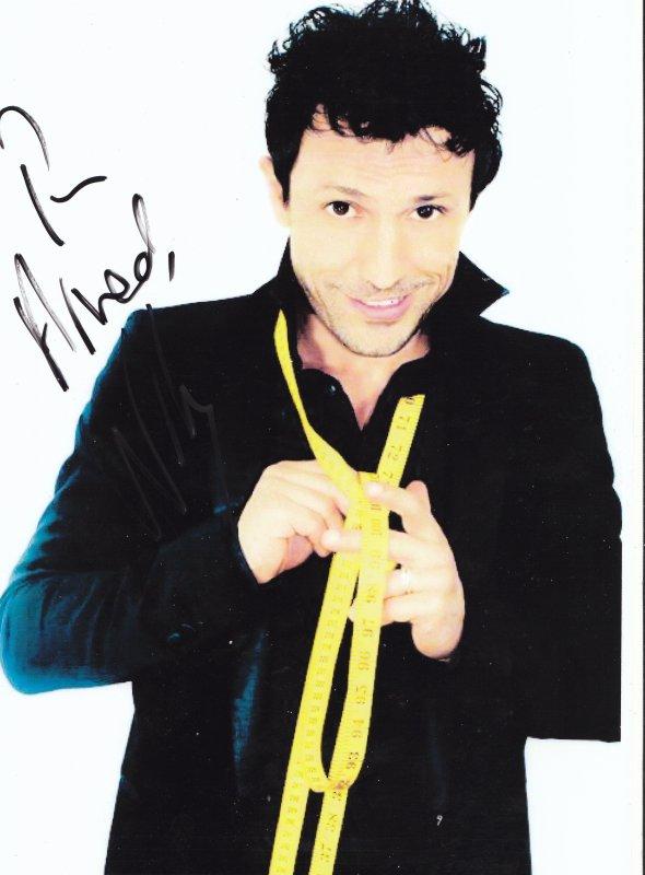 Autographe de Willy Rovelli