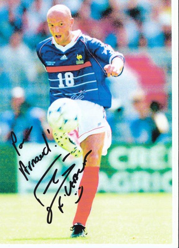 Autographe de Frank Leboeuf