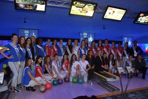 Suite des photos de la soirée Bowling avec les Miss
