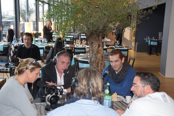 Interview radio Amaury Vassili et Philippe Risoli