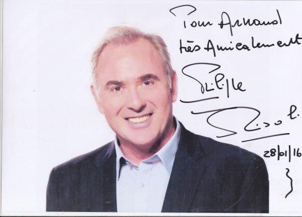 Autographe de Philippe Risoli