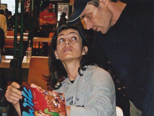 Bédéciné 2005 et 2006 à Illzach - Adeline Blondieau et Serge Fino