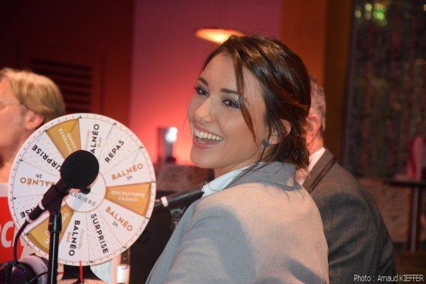 Casino show avec Delphine Wespiser
