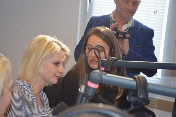 Interview radio Herbert Léonard, Corinne Hermès et Osmose