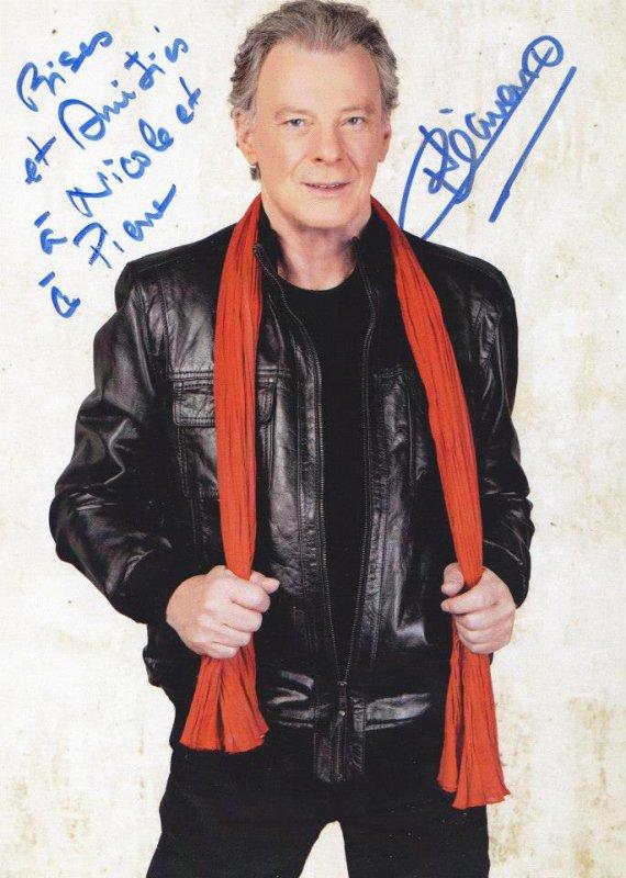 Autographe de Herbert Léonard
