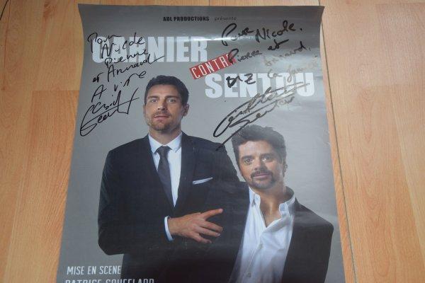 Autographes de Garnier et Sentou