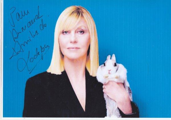 Autographes de Chantal Ladesou
