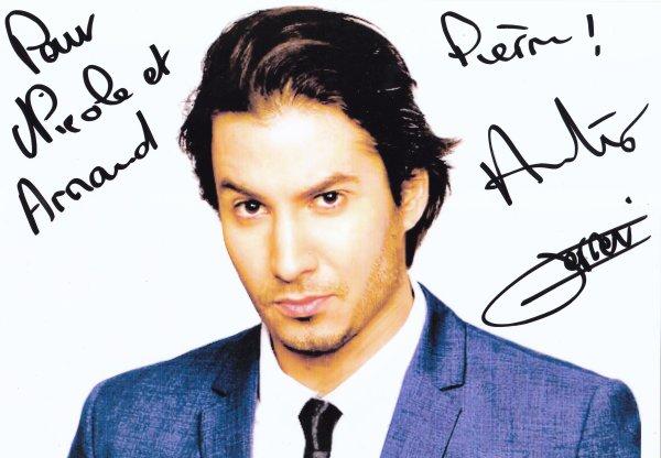 Autographe de Jérémy Ferrari