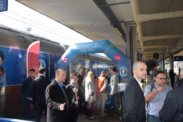 UEFA Euro 2016 - Inauguration officielle à Mulhouse