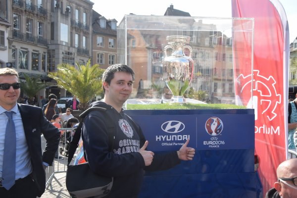 UEFA Euro 2016 - Trophée