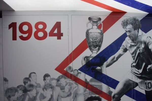UEFA Euro 2016 - Visite du train