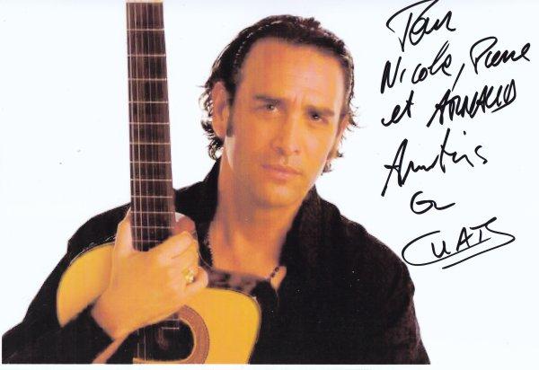 Autographe de Sébastien El Chato