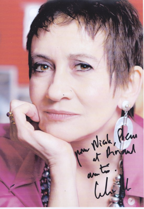 Autographe de Caroline Loeb