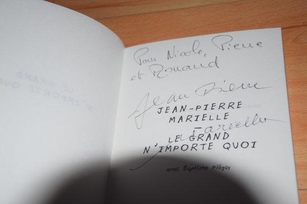 Autographes de Jean-Pierre Marielle