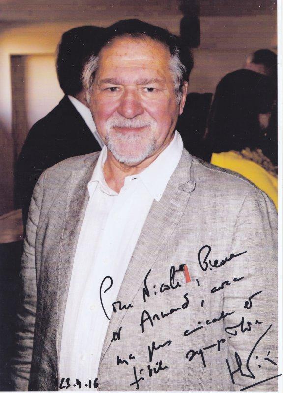 Autographes de Pierre Santini