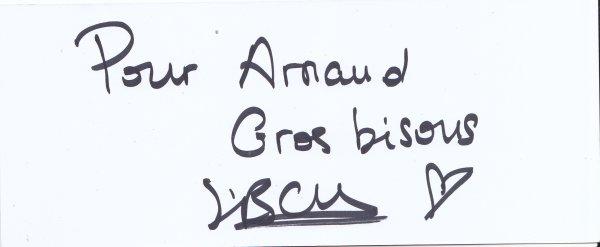 Autographe de Mathieu Canaby