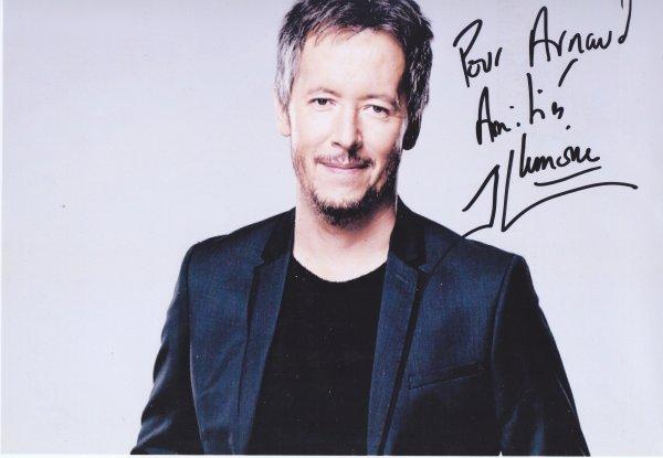 Autographe de Jean-Luc Lemoine