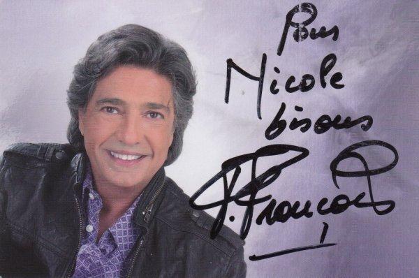 Autographe de Frédéric François