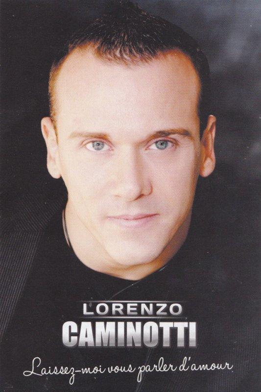 Autographe de Lorenzo Caminotti