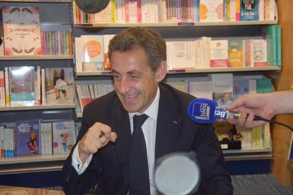 Nicolas Sarkozy à Belfort