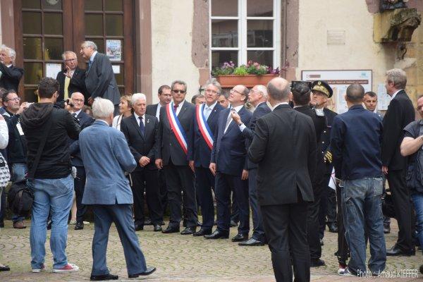 Visite du Prince Albert II de Monaco à Thann
