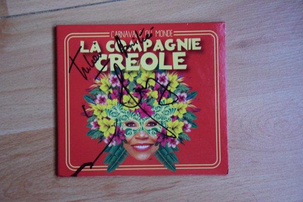 Album dédicacé par Guy et Julien de la Compagnie Créole
