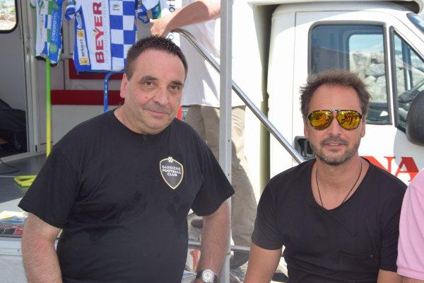 Tour Alsace 2016 - Les parrains Paul Belmondo et Rodolphe Gaudin
